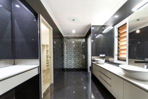 Recent bathroom renovation in Cairns