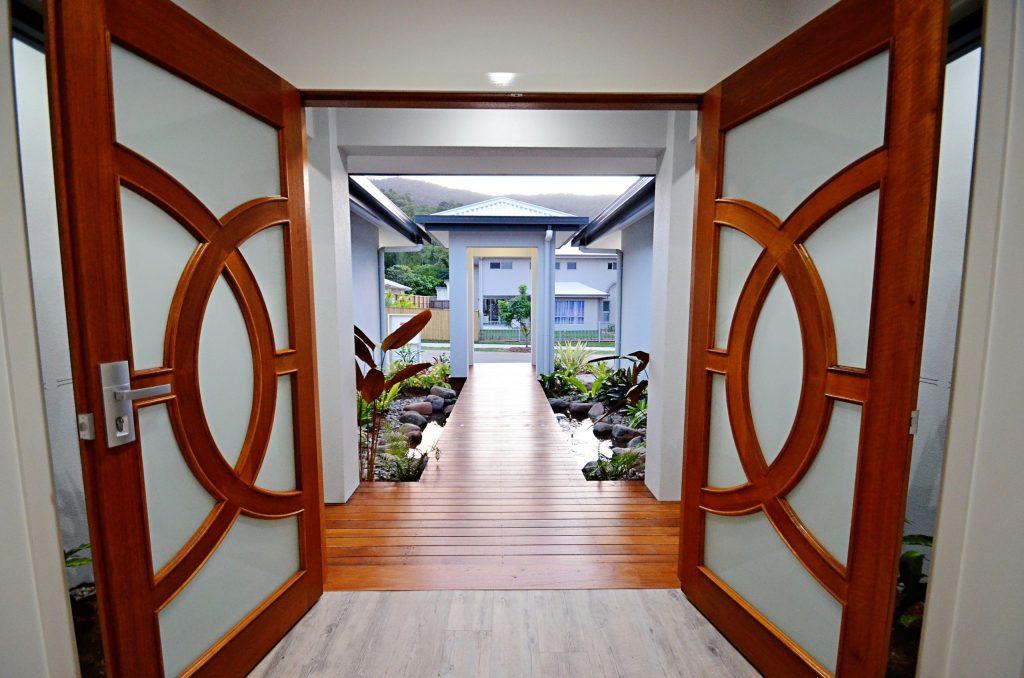 Recent entrance renovation in Cairns